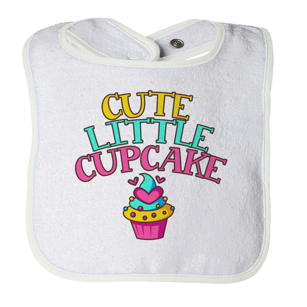 Cute Little Cupcake Bib - 1