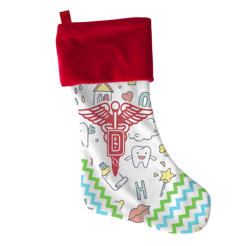 Dentist Xmas - Novelty Christmas stocking