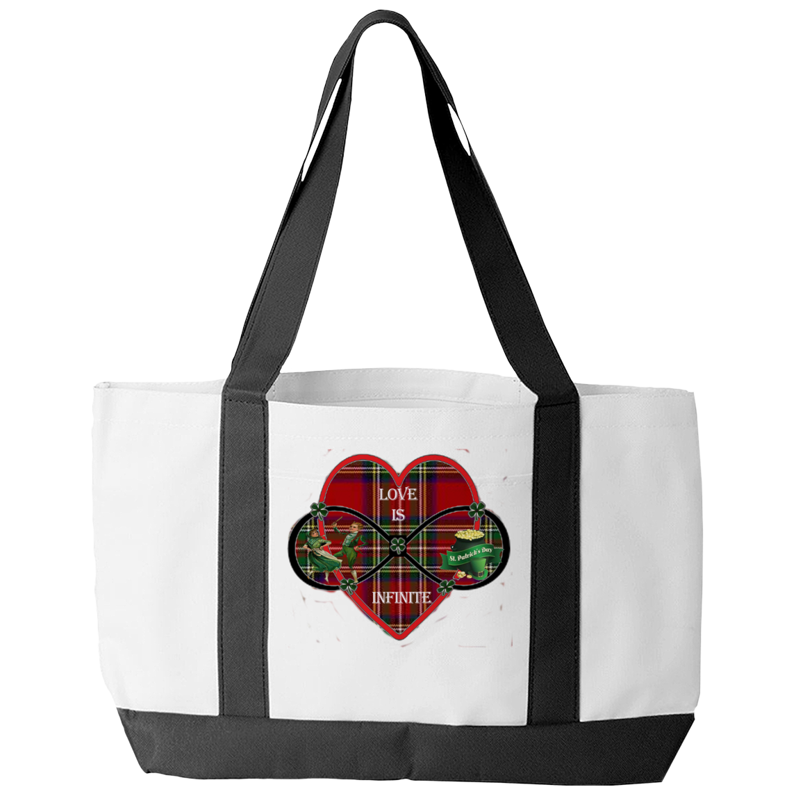 Love Is Infinite Tote Bag