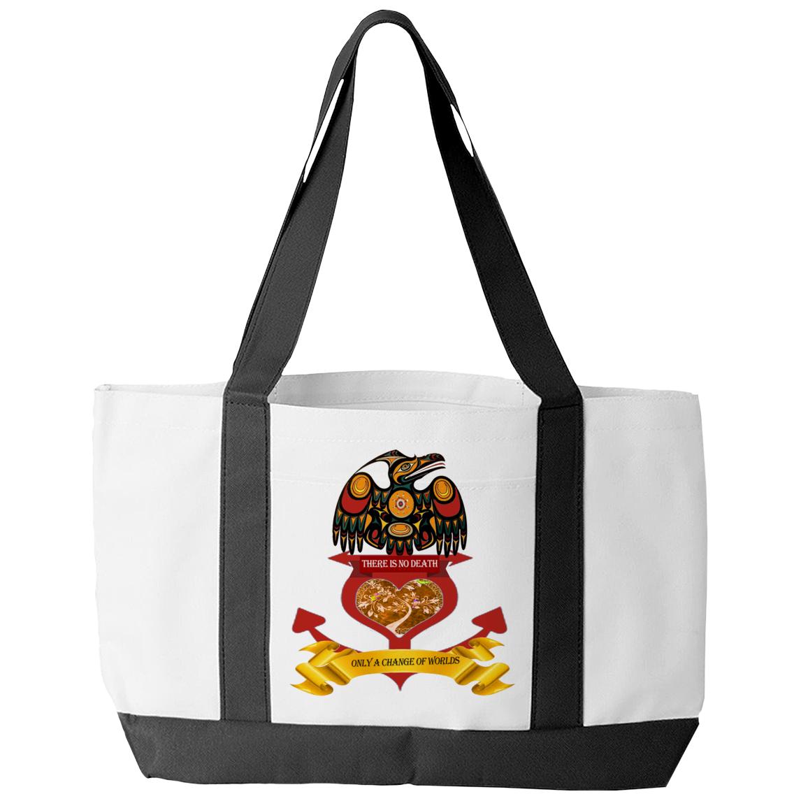 Change Of Worlds Tote Bag - Native American Tote Bag
