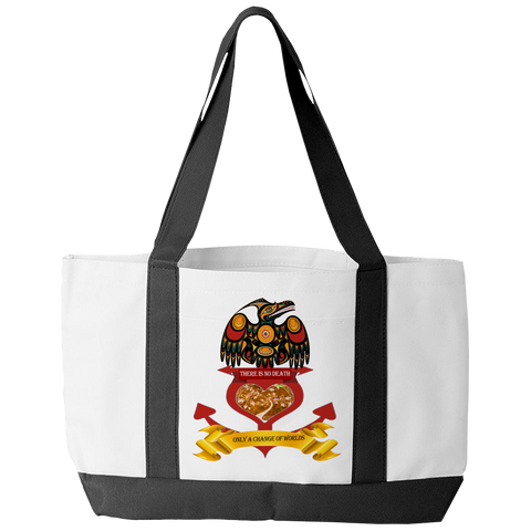 Change Of Worlds Tote Bag - Native American