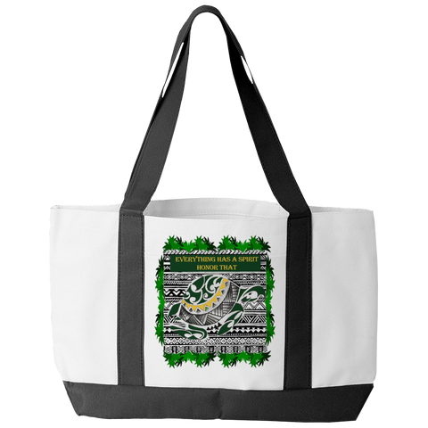 Turtle Spirit Tote Bag - Native American Tote Bag