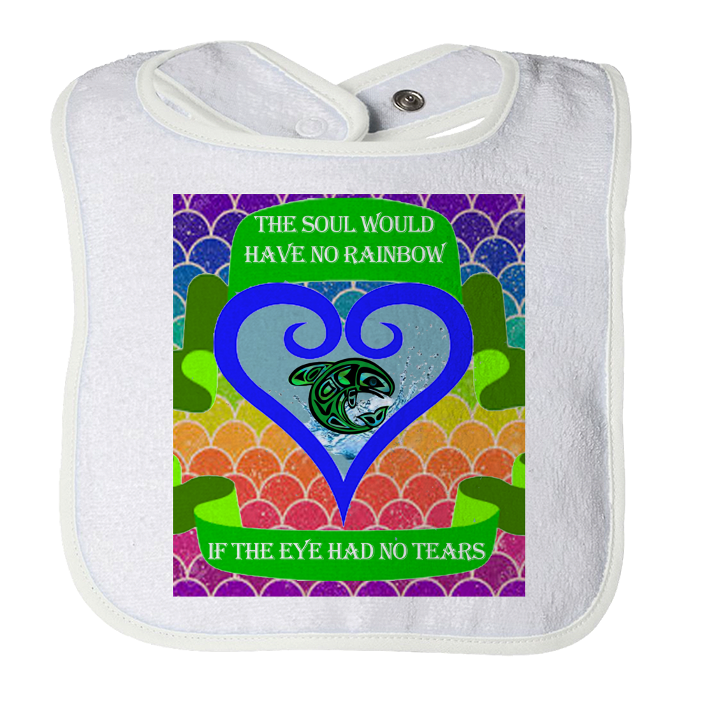 Rainbow Soul Baby Bib - Native American