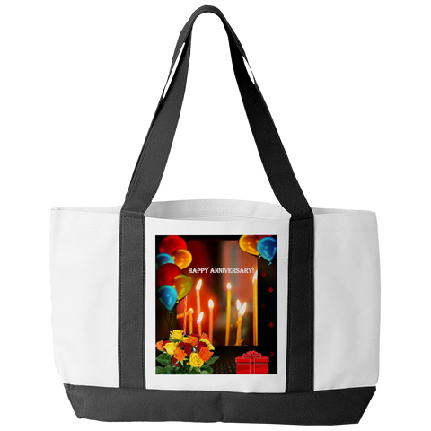 HAPPY ANNIVERSARY TOTE BAG