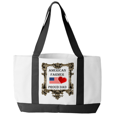 American Farmer - Proud Dad Tote Bag
