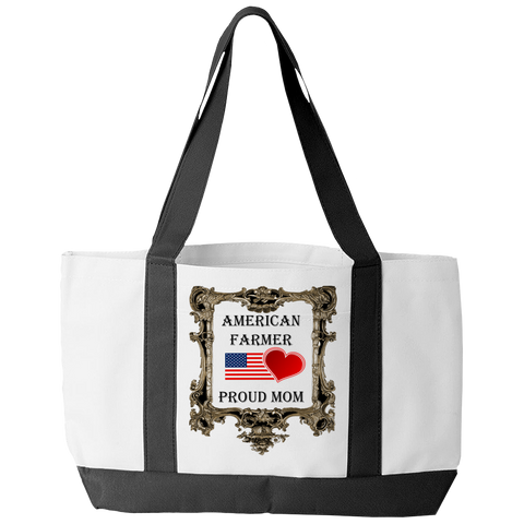 American Farmer - Proud Mom Tote Bag