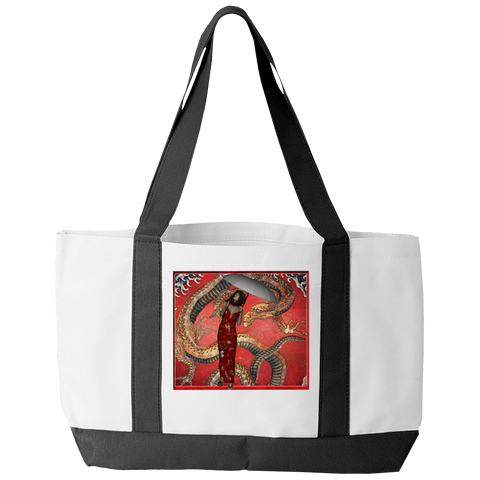 Dragon Under The Weather Tote Bag
