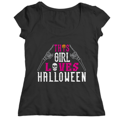 Limited Edition -  This Girl Loves Halloween Shirt