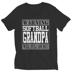 Limited Edition - Warning Softball Grandpa will Yell Loudly