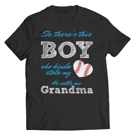Limited Edition - So, There's this Boy who kinda stole my heart. He calls me Grandma (baseball)