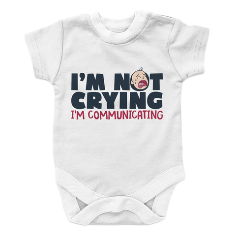 I'm Not Crying - 2 Baby Onesie