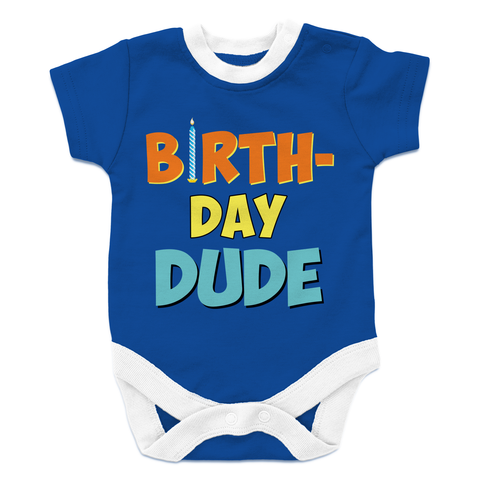 Birthday Dude Baby Onesie