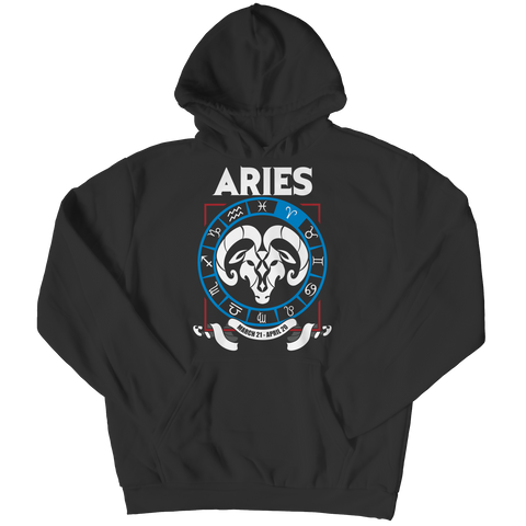 Aries Hoodie - Zodiac Collection