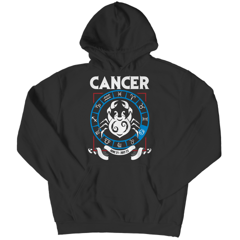Cancer Hoodie - Zodiac Collection