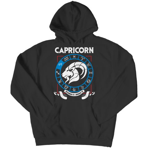 Capricorn Hoodie - Zodiac Collection