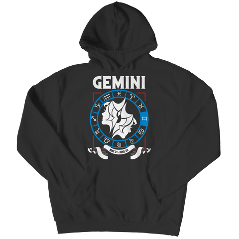 Gemini Hoodie - Zodiac Collection