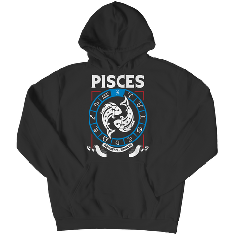 Pisces Hoodie - Zodiac Collection