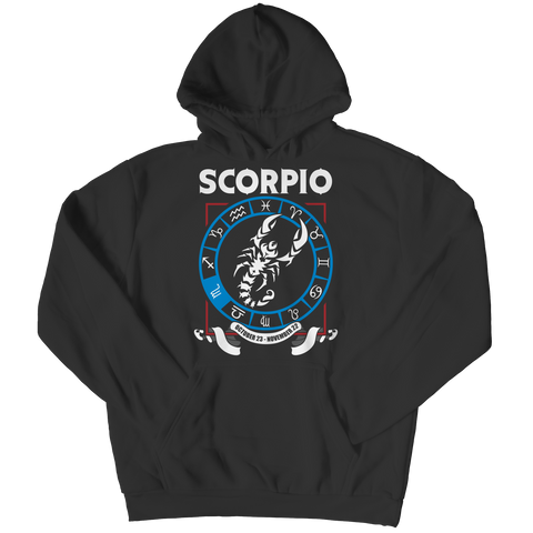 Scorpio Hoodie - Zodiac Collection