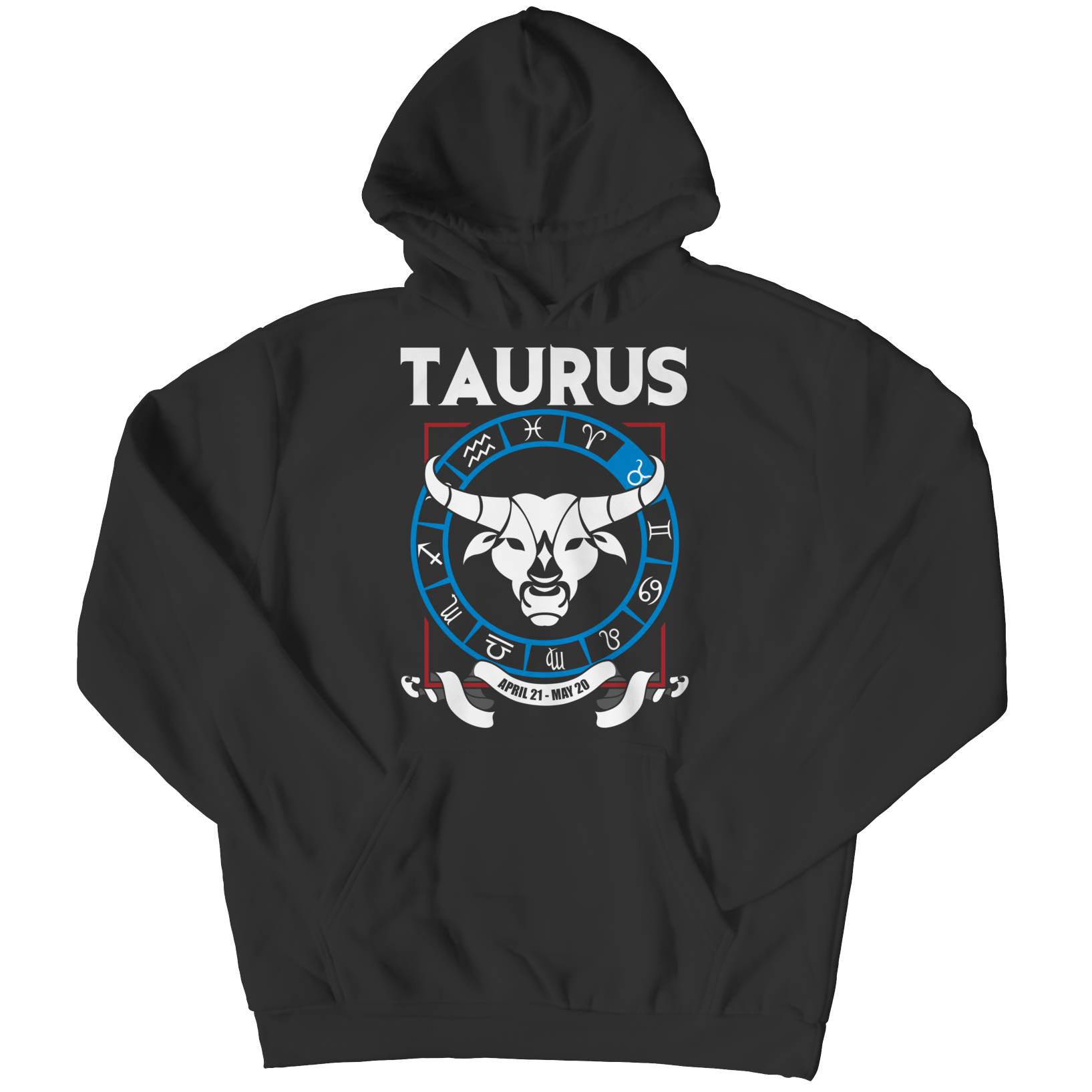 Taurus Adult Hoodie - Zodiac Collection