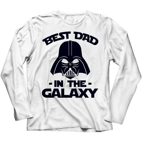 Best Dad in the Galaxy Long Sleeve Shirt