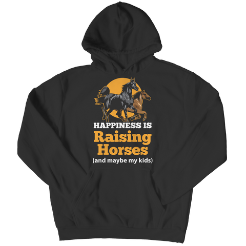 Happiness Is Raising Horses Hoodie