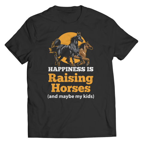 Happiness Is Raising Horses Shirt