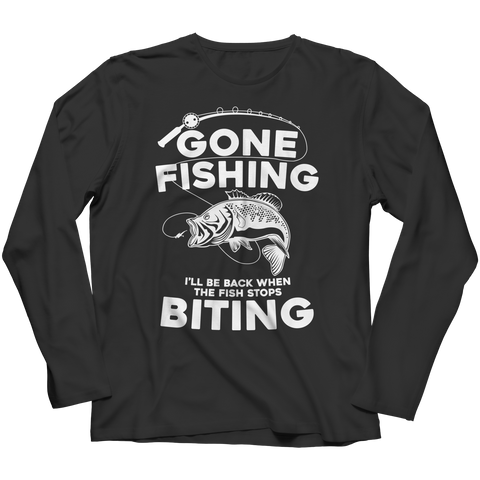 Gone Fishing Long Sleeve Shirt
