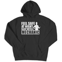 Limited Edition - Feel Safe at Night Sleep with a Mechanic Shirt