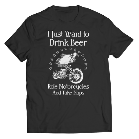 Drink Beer Ride Motorcycles Shirt