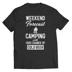 100% Chance Of Beer Shirt