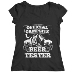 Official Campsite Beer Tester Shirt