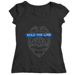 Limited Edition - Hold The Line - Police Officer Shirt