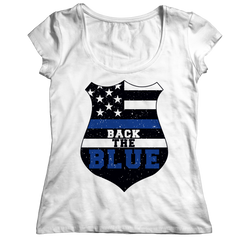 Limited Edition - Back The Blue Police Officer Shirt