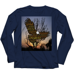 Creative Joyful Eagle Long Sleeve Shirt