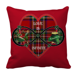Love Is Infinite Pillow Case