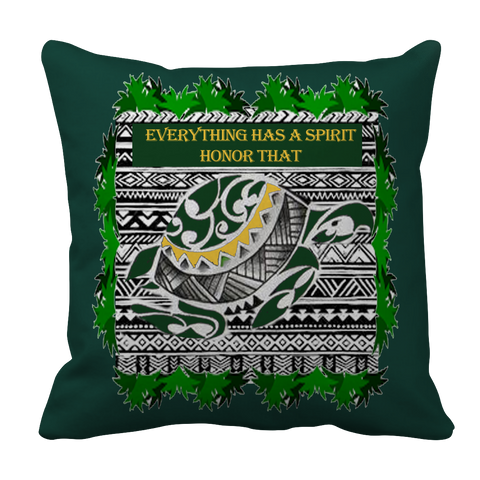 Turtle Spirit Pillow Case - Native American