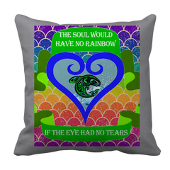 Rainbow Soul Pillow Case - Native American