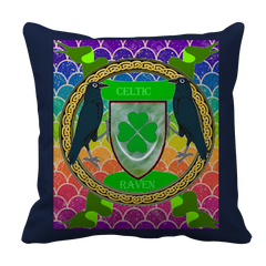 Celtic Raven Pillow Case