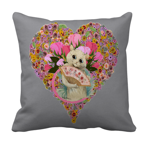 Valentine's Day Heart Pillow Case