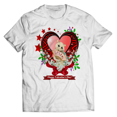 Valentine's Day Red Heart Star Shirt