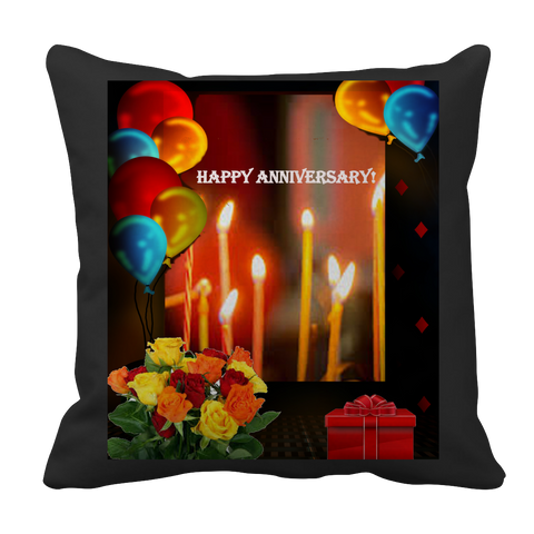 Happy Anniversary Pillow Case