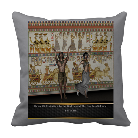 Ancient Egyptian Dance Pillow Case