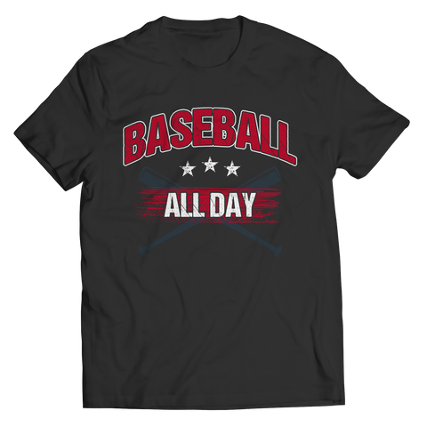 Baseball All Day Unisex Tee Shirt