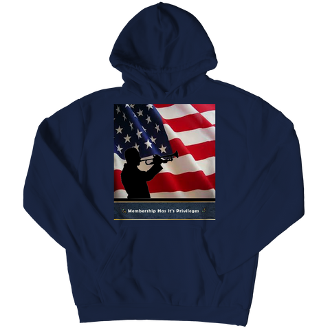 Membership Has It's Privileges Adult Hoodie
