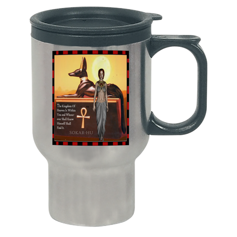 Ancient Egyptian Travel Mug