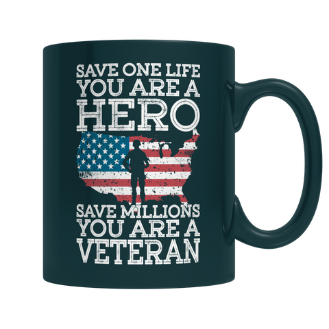 Save One Life You Are A Hero Mug