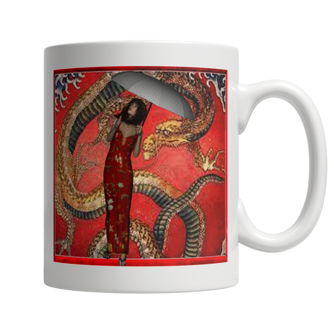 Dragon Under The Weather Mug