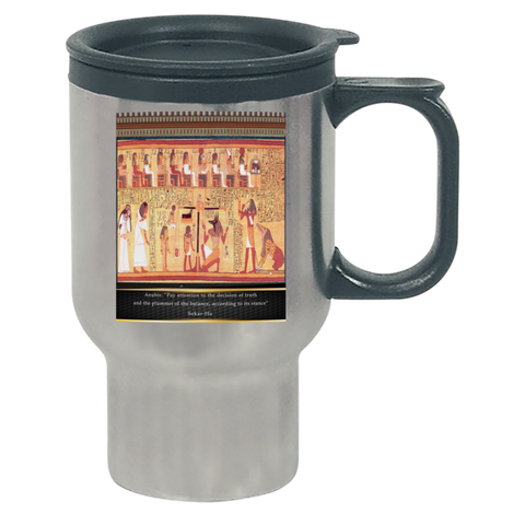 Ancient Egyptian Anubis Travel Mug
