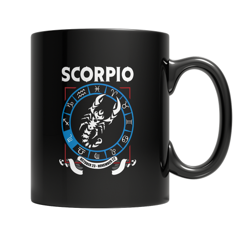 Scorpio Mug - Zodiac Collection
