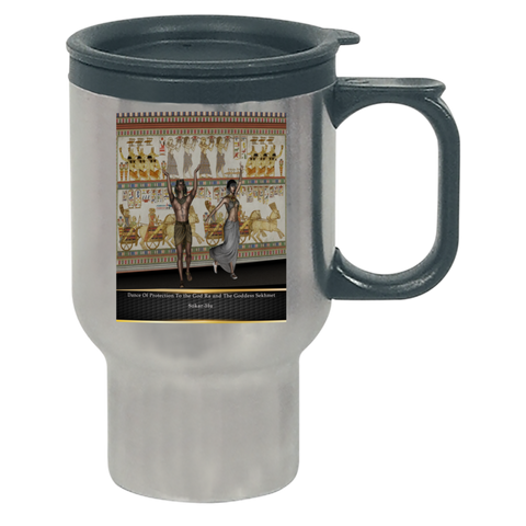 Ancient Egyptian Dance Travel Mug